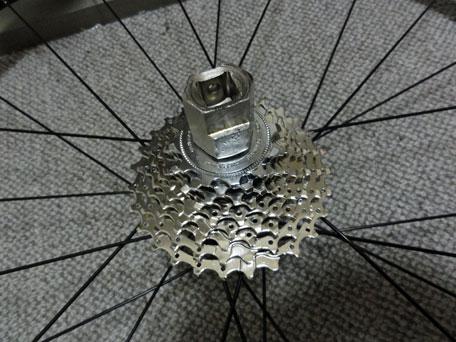 自転車の 自転車 ロックリング回し : 簡単ですが、ロックリング回し ...