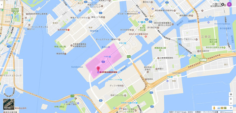 豊洲市場水1