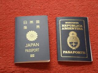 2 pasaportes