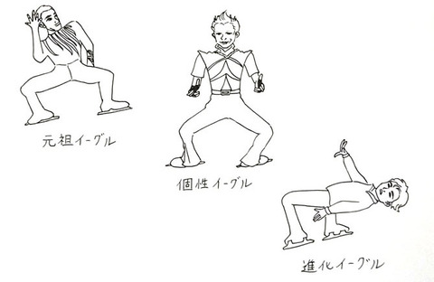 跳んでQの『フィギュアスケートバカシリーズ』vol.24