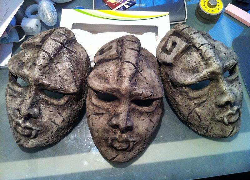 3Dプリンター お面 石仮面を3Dプリンターで作ってみた!! : 3Dプリンターログ 3Dプリン