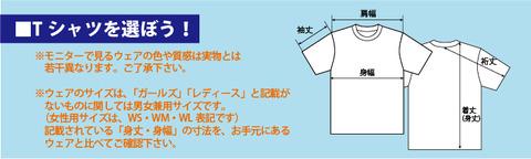 Tシャツを選ぼう