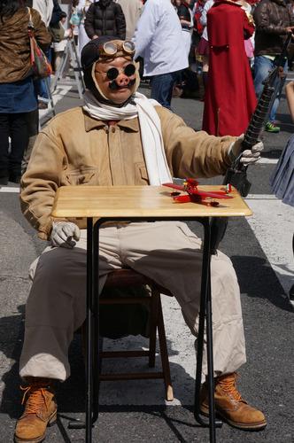 日本橋ストリートフェスタ2014_紅の豚