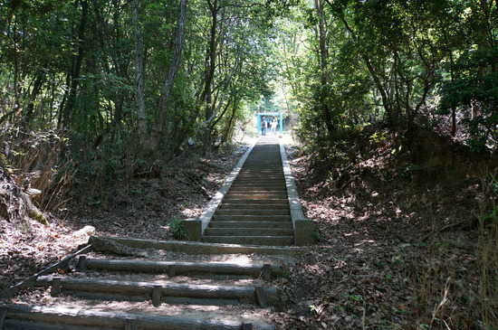 最後の難関・階段