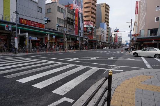 日本橋歩道橋がなかった