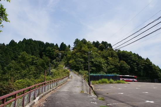 比叡山頂への道