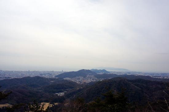 菊水山から