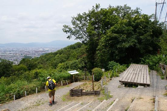 大岩山展望所のベンチ