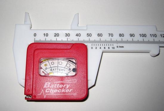 キャンドゥ ホームノギス バッテリーチェッカー計測