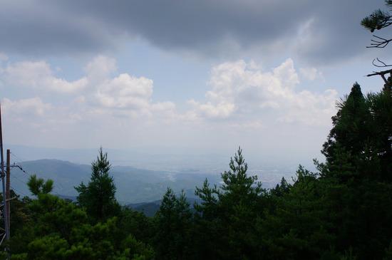 愛宕山山頂からの眺め