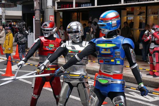 日本橋ストリートフェスタ2014_宇宙刑事