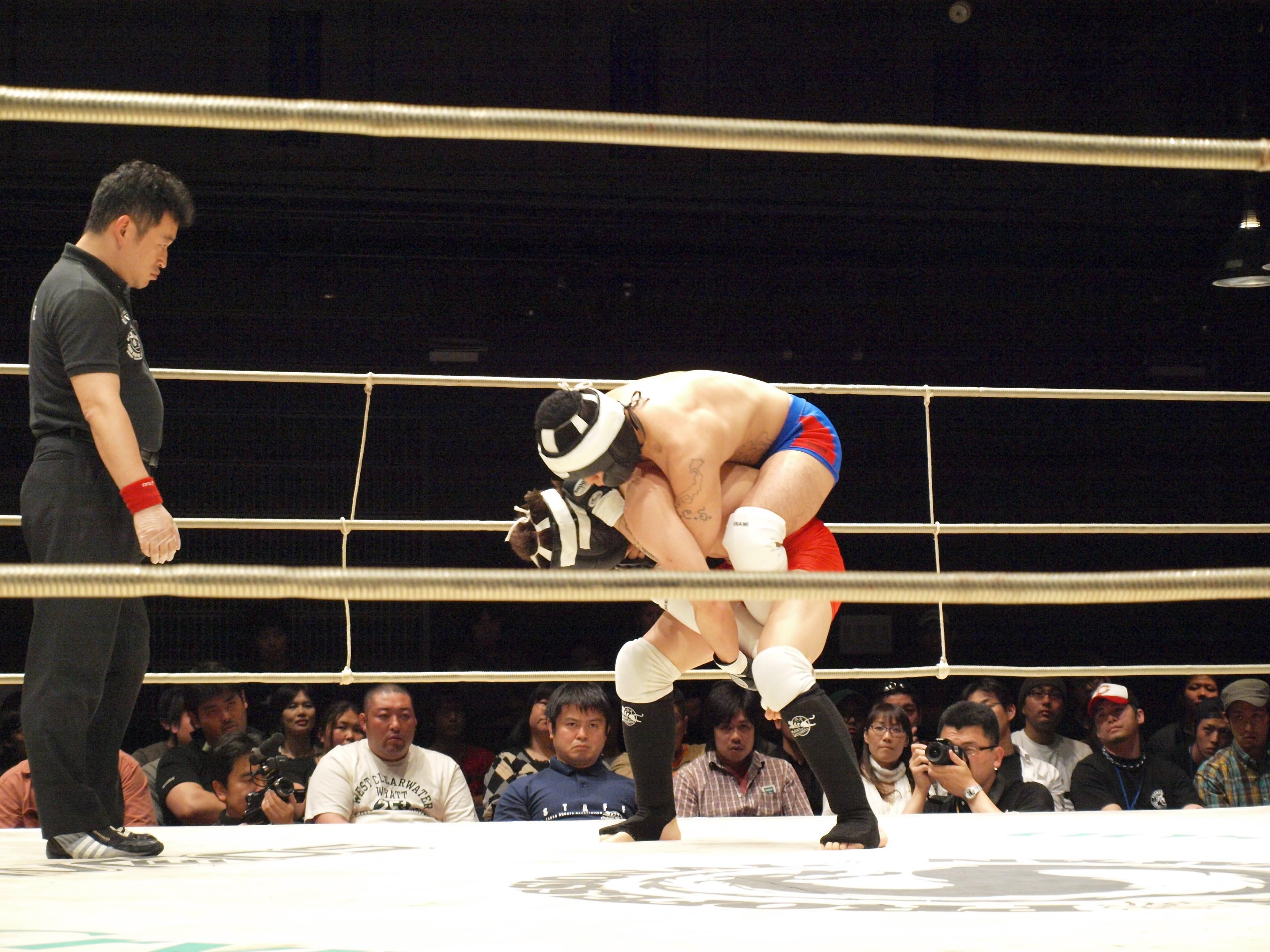プロフェッショナル修斗 仙台大会 「SPIRIT 2009」                proshootosendai