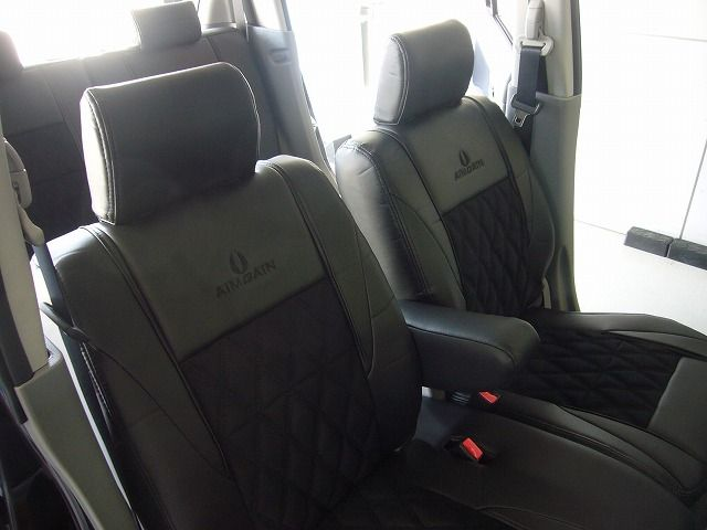 AIMGAIN SEAT COVER LAMOUS type SEDAN アイスグレー