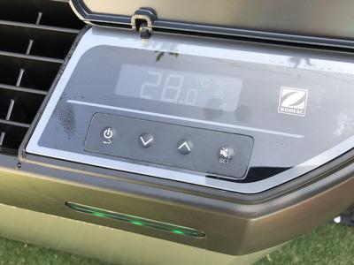 マジラインZ400ヒートポンプ 昇温