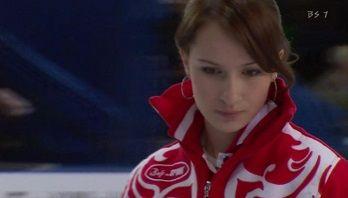 ロシアカーリング選手アンナ・シードロヴァ