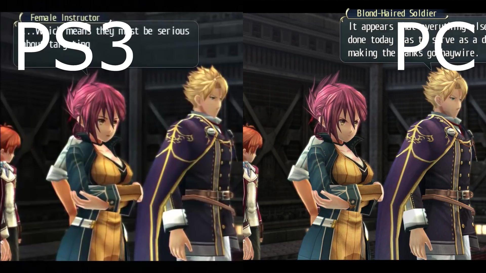 『英雄伝説 閃の軌跡』PC版とPS3版の新たな比較映像!日本語 ...