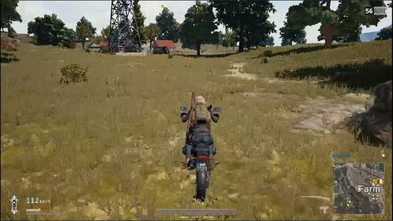 【PUBG】バイクに乗ったままお邪魔します!