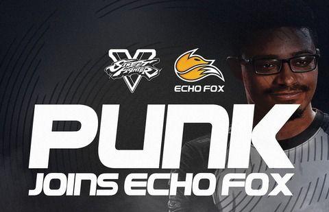 【スト5AE】アメリカのPunk選手がEcho Foxに加入!!