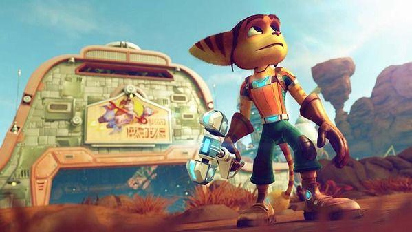 「ラチェット&クランク THE GAME」特別版に同梱される映画の冒頭部分がフライング公開!