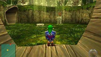 RPGに出てくる「迷いの森」みたいなステージ