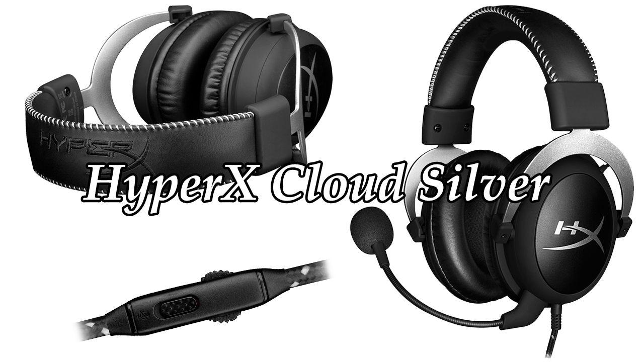 hyperx cloud silver. Black Bedroom Furniture Sets. Home Design Ideas
