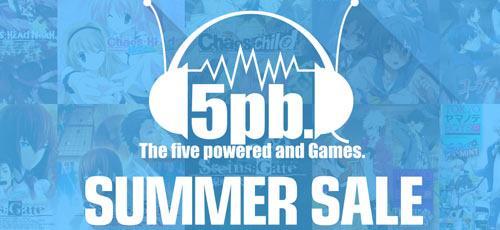 【PSストア】本日最終日!あのタイトルが108円、最大95%OFF 5pb.Gamesサマーセール2016!8月31日まで