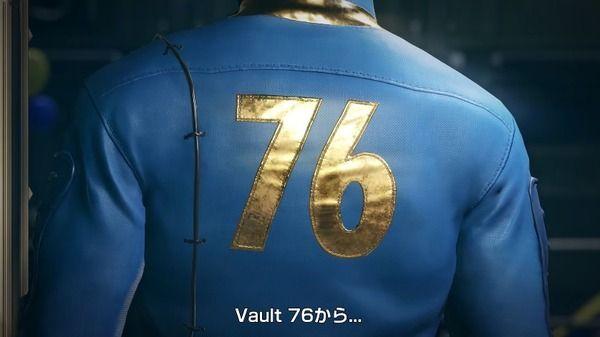 【動画あり】『Fallout76』が発表!詳細はE3