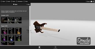 Ormsby Guitars Designer