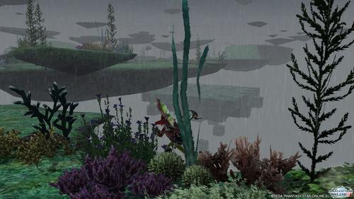 雨の浮遊大陸