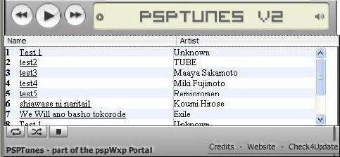 psptunes