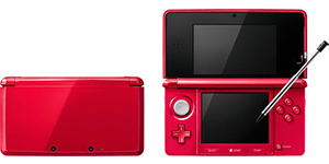 3ds metalick red