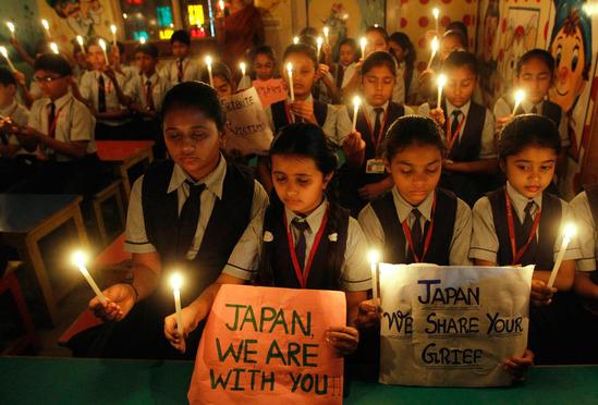 東日本大震災 海外