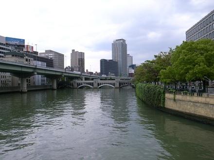 大阪中之島散策 - 水晶橋