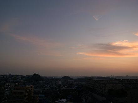 2009/11/08 夕焼け