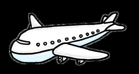 飛行機イラスト素材
