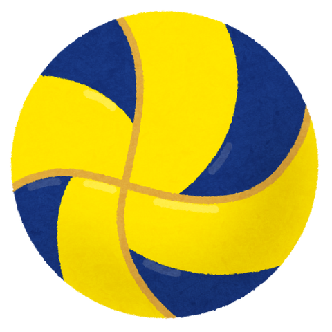 sports_ball_volleyball_blueyellow