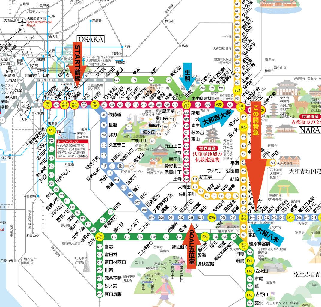 近鉄 生駒 線 時刻 表