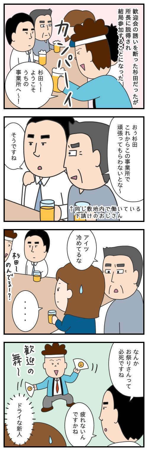 605. 杉田の歓迎会/モヤッとした話