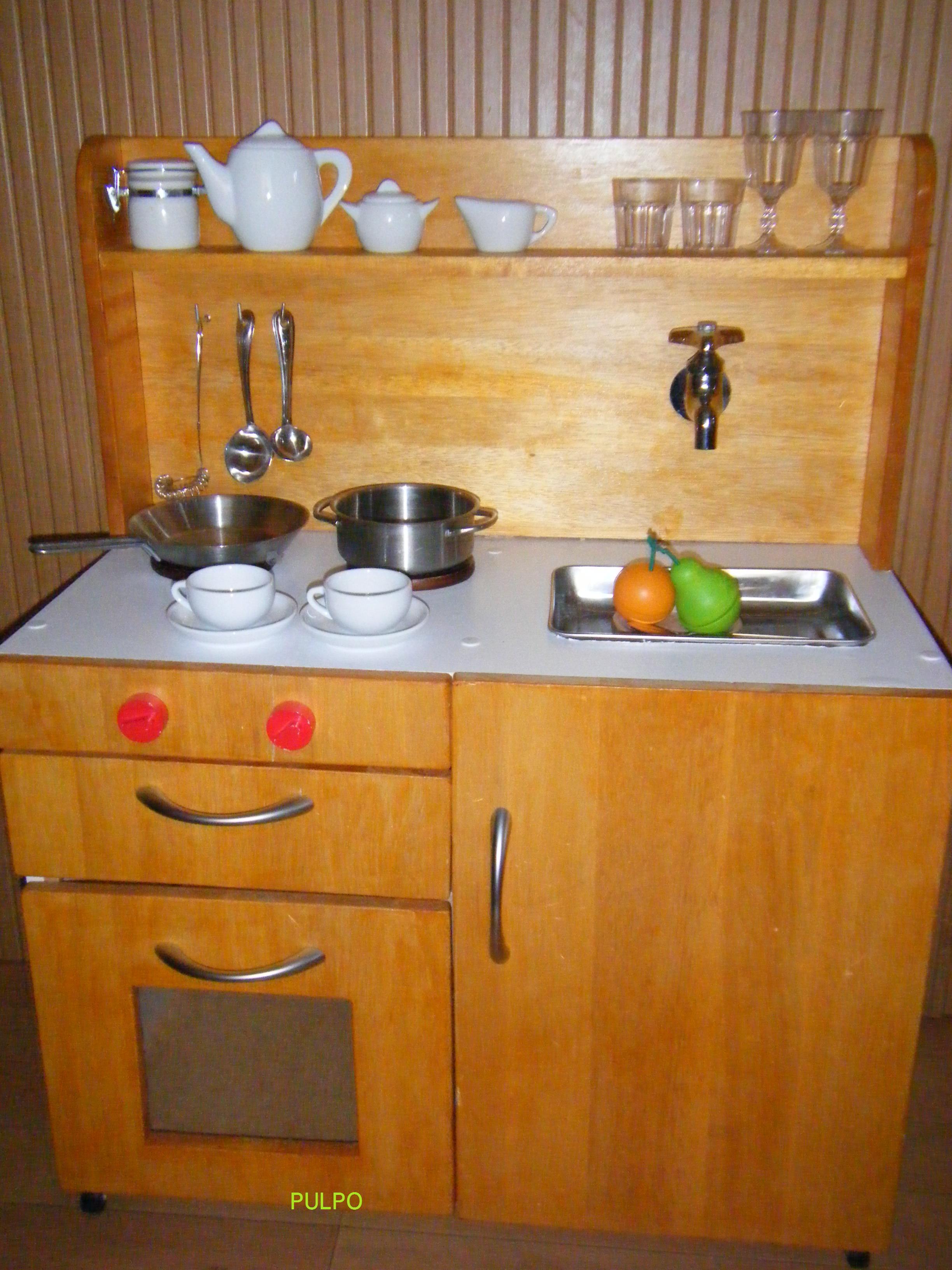 キッチン ままごとキッチン カラーボックス : ... で手作りままごとキッチン