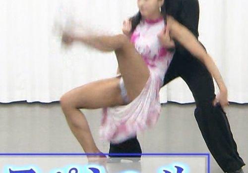 「金スマ」社交ダンス部 美人先生がパンチラしまくりエロすぎ!! 表紙