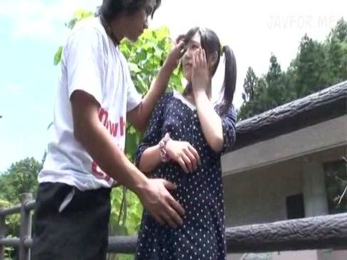 ロリカワツインテール美少女と野外セックス&ローションヌルヌルマッサージ[1]