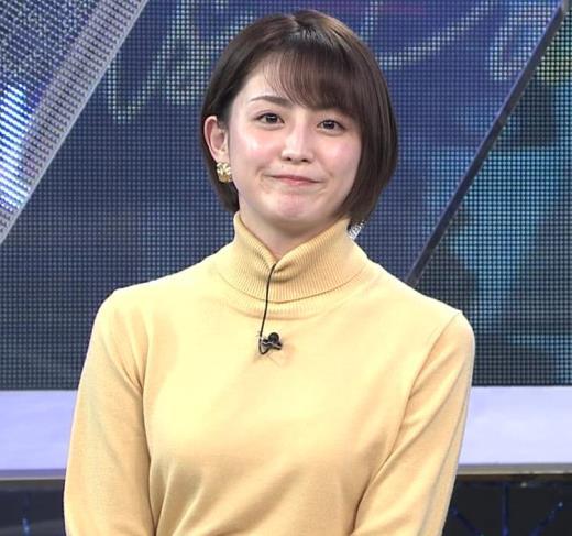 宮司愛海アナ ロングスカート