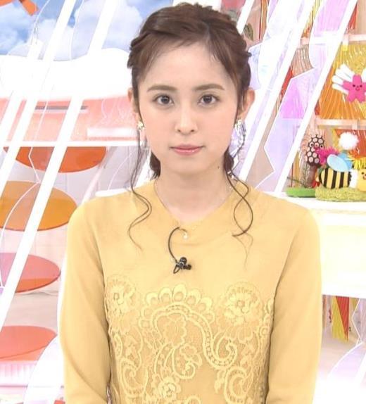 久慈暁子アナ おでこ出した髪形がカワイイ