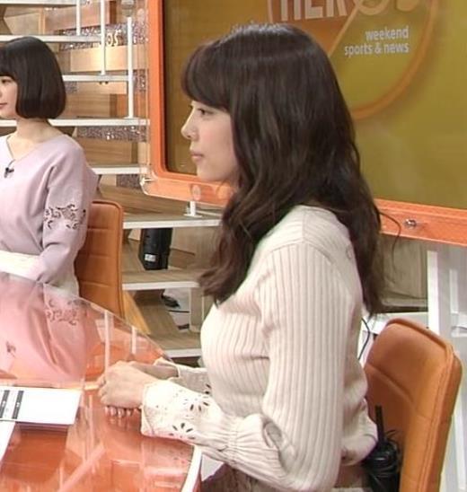 宮澤智アナ 持っているのかデカくなったのか、ちっと横乳がエロい