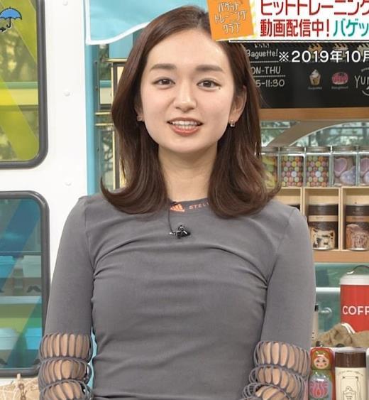 後藤晴菜アナ おっぱいがエロいシャツ