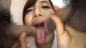 【ドスケベフェラ】人気の職業コスプレで長い舌をねっとり絡ませるチンしゃぶ大好き女優がこちらw