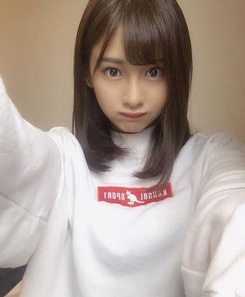 「monogatari」通称モノガの工藤茶南(くどうてぃな)ちゃんカワイイ!制服と自撮り!