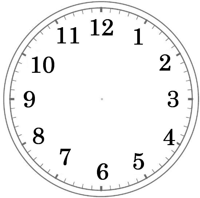 目盛りのみ使わせていただき ... : 時計の文字盤 : すべての講義