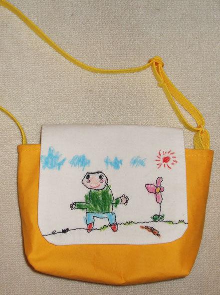ぷにんぷ妊婦  *ブログで描く我が子の毎日*-通園カバン