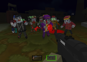 Pixel Gun Warfare 2 Zombie Attack